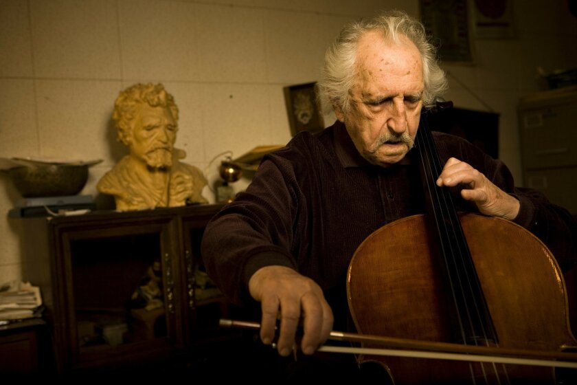 Cellist Fred Katz will perform June 3 at the 12th annual Klezmer Summit, as part of the Lipinsky Family San Diego Jewish Arts Festival. CREDIT: