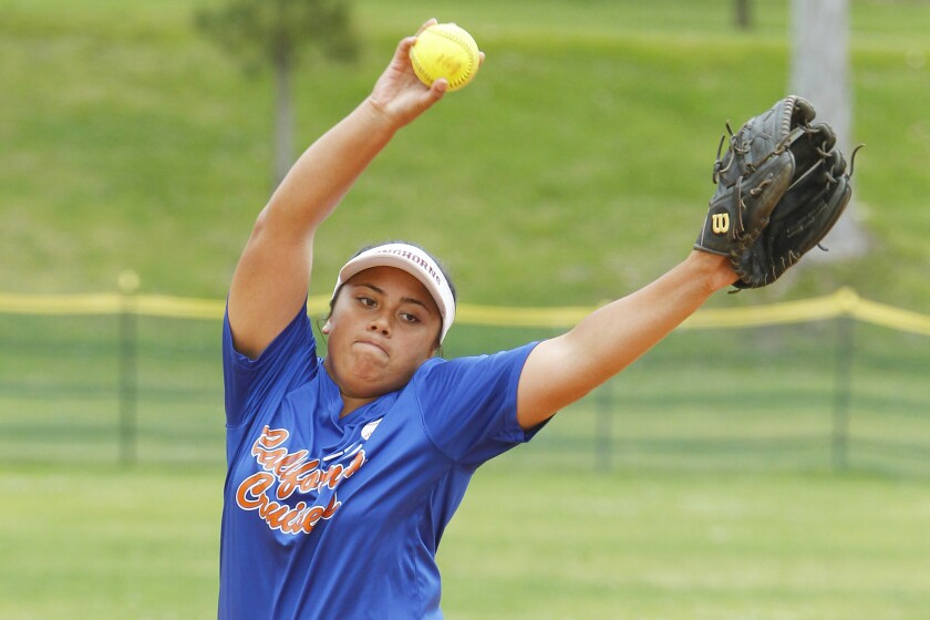 Farrah Steffany hit .594 this season with one homer and 20 RBIs. In the pitching circle, she was 8-3 with a 2.06 ERA for the Longhorns, who finished 18-9-1 overall and 10-0 in the Avocado East League.
