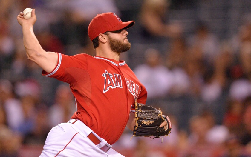 Cam Bedrosian appears to be the front-runner to be the Angels' closer.