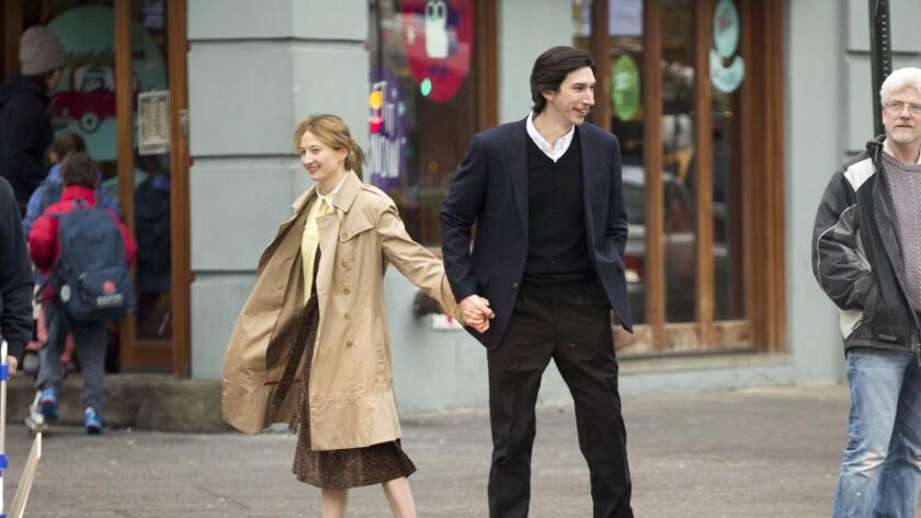 "lba Rohrwacher (Mina) and Adam Driver (Jude) in Saverio Costanzo's movie ""Hungry Hearts."""