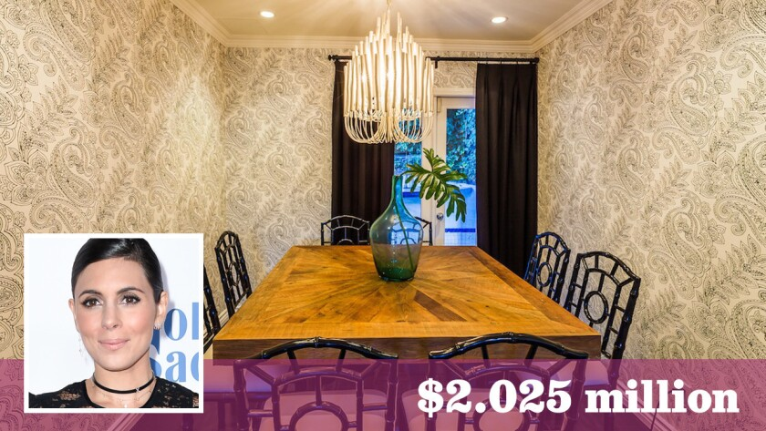 Actress Jamie-Lynn Sigler has sold her home in Hollywood Hills West for $2.025 million.