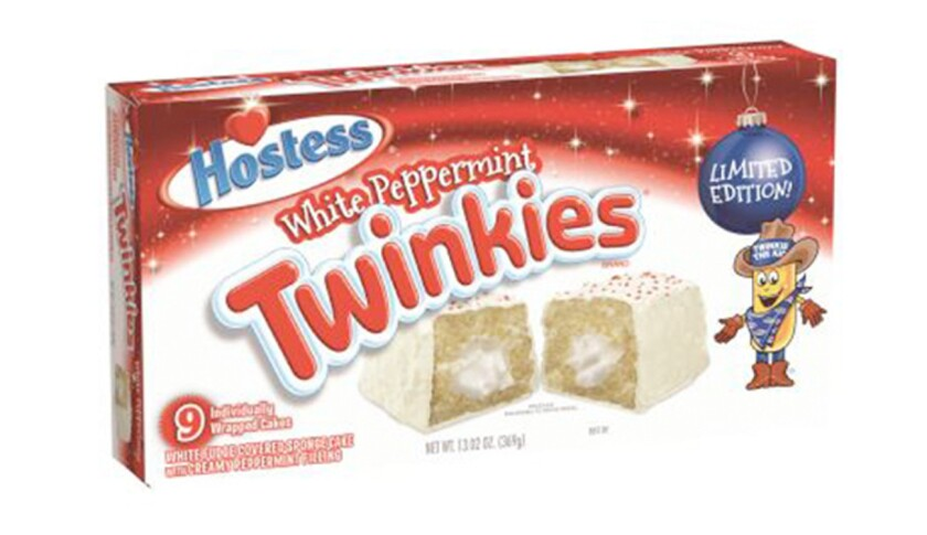 Hostess is recalling some Holiday White Peppermint Twinkies.