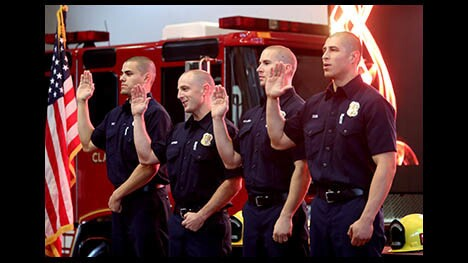 Photo Gallery: Glendale Fire Dept. promotions ceremony