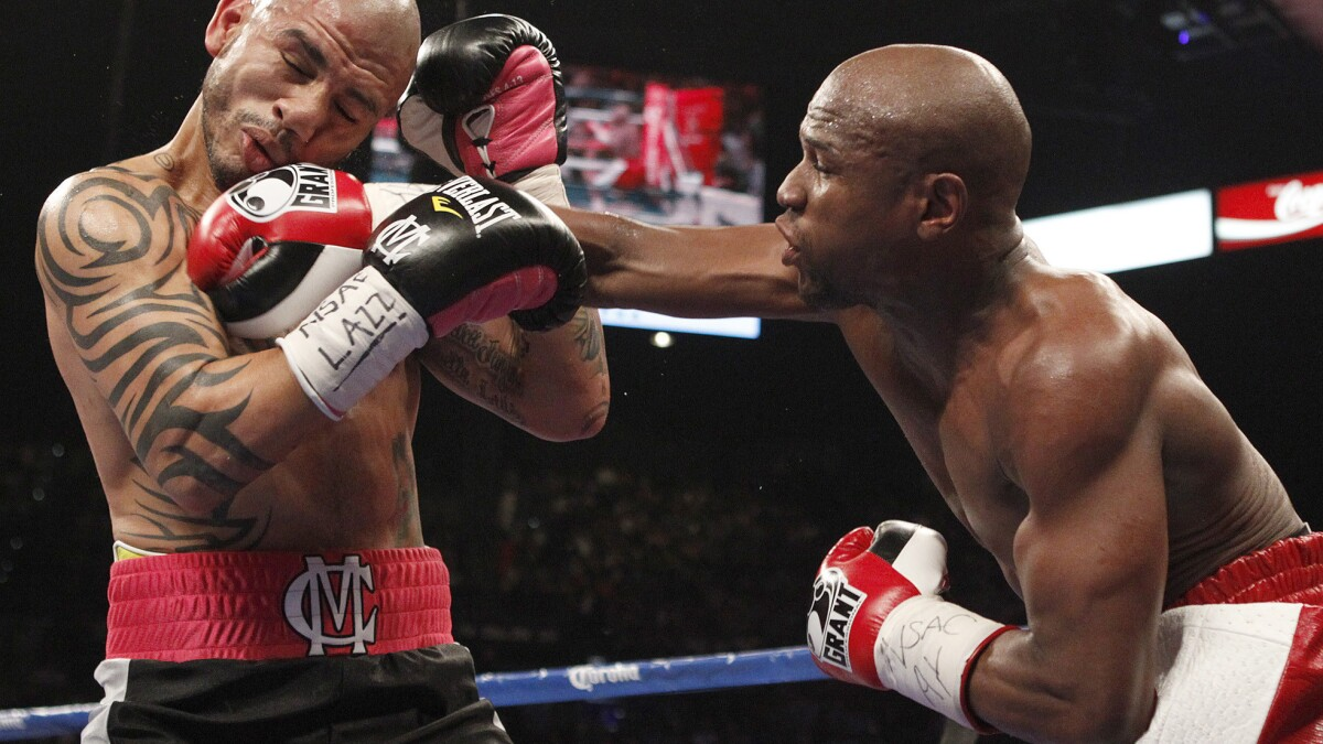 Floyd Mayweather Jr 's greatest fights, No  2: Miguel Cotto - Los