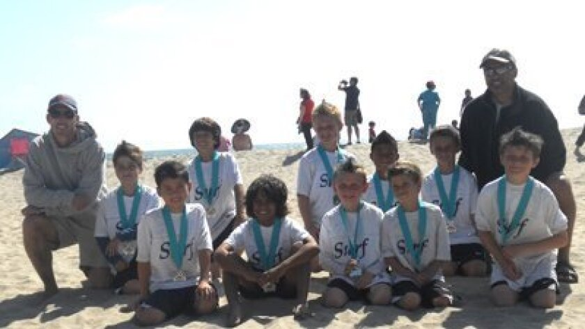 Surf Boys U9 White Team