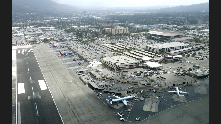 Hollywood Burbank Airport air-service agreement concerns Valley residents affected by aircraft noise
