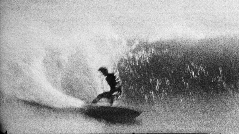 """FJV Knost,"" by filmmaker and photographer Tin Ojeda, from a group show inspired by surfing at the D"