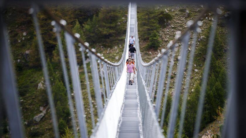 World's longest pedestrian suspension bridge inaugurated