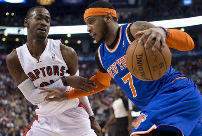 Terrence Ross; Carmelo Anthony