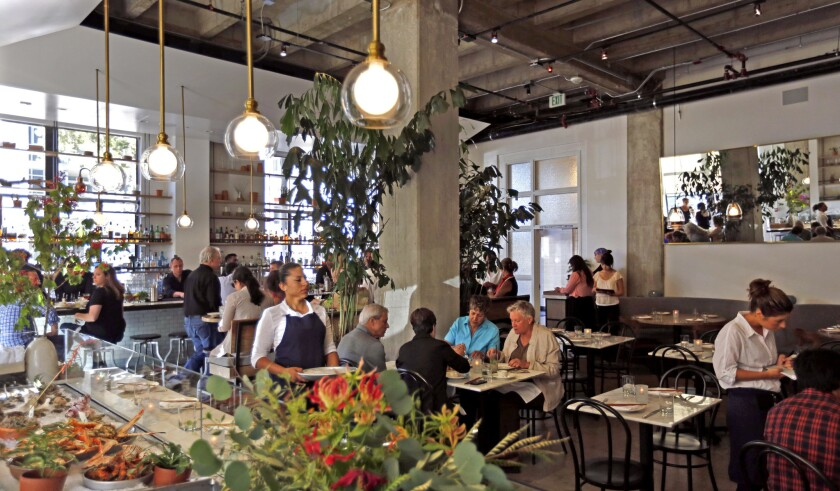 Kathryn Coker curates the wine list at Cassia, the new Santa Monica restaurant from chef Bryan Ng.
