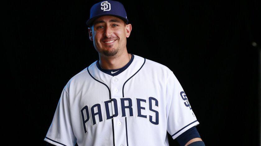 San Diego Padres Craig Allen on Feb. 21, 2018.