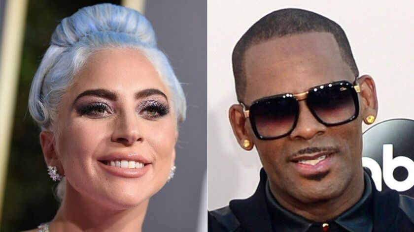 Lady Gaga apologized Wednesday night for her 2013 collaboration with R. Kelly.