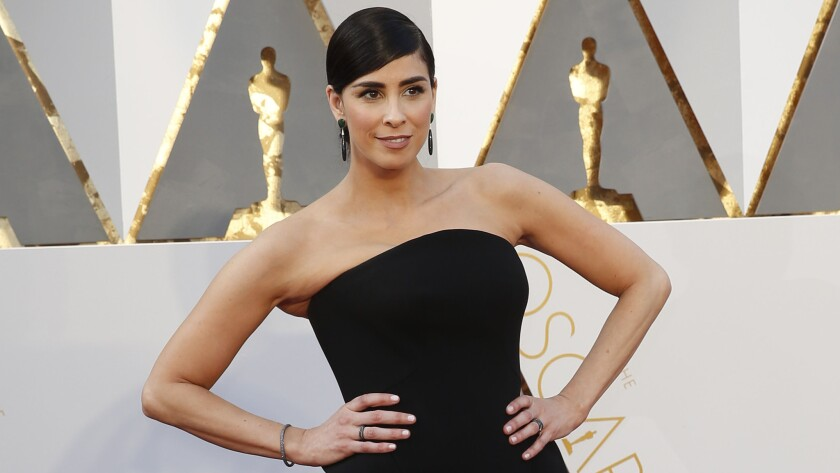 Sarah Silverman in Hollywood at the 88th Academy Awards in February 2016.