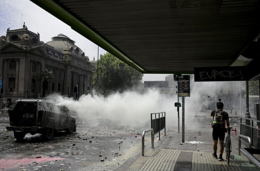 CHILE-DISTURBIOS