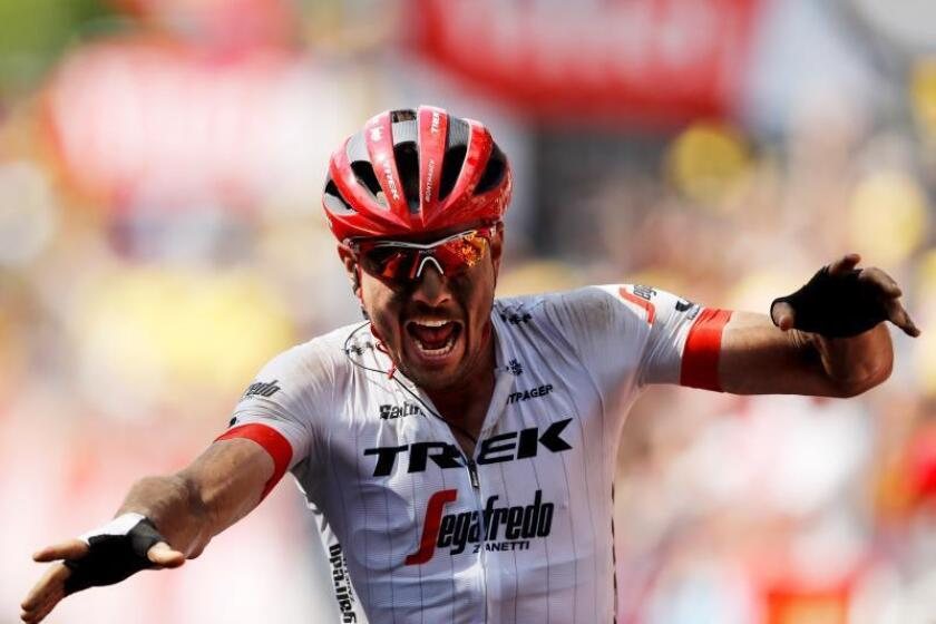 El alemán John Degenkolb (Trek) se ha impuesto en la novena etapa del Tour de Francia. EFE