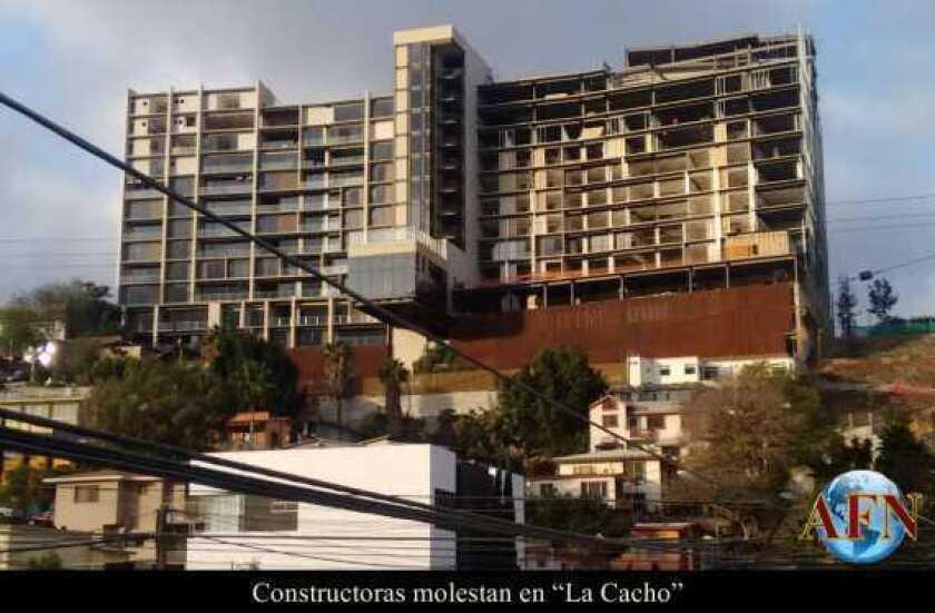 """Constructoras molestan en """"La Cacho"""""""