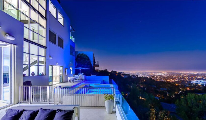 Vance Owen's Hollywood Hills home