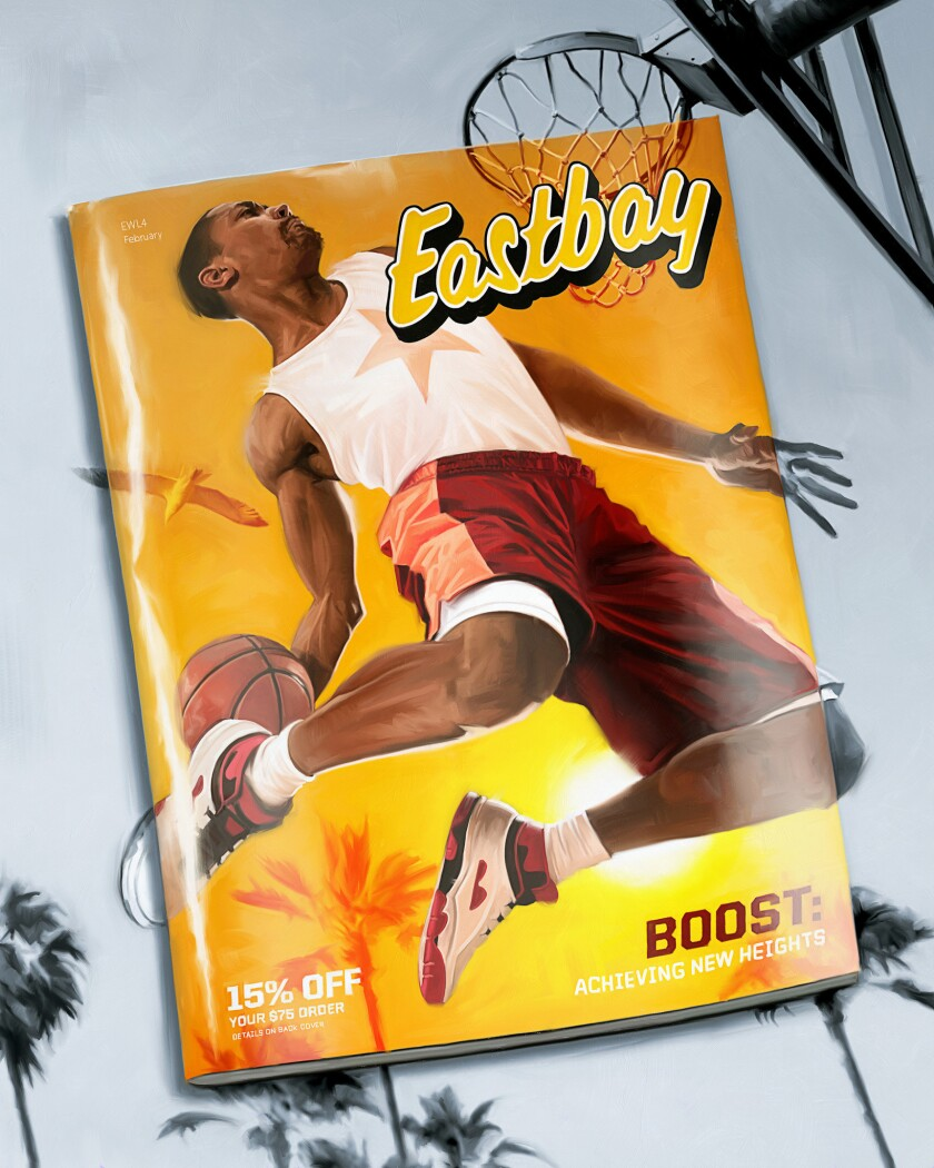 ONE TIME USE - For Dan Woike's story about the Eastbay Shoe Catalog running in the Special Sneaker I