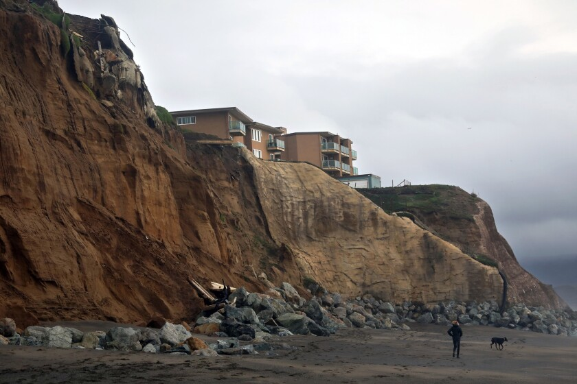 The California Coast Is Disappearing Under The Rising Sea Our Choices Are Grim Los Angeles Times