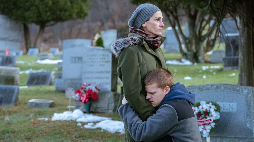 Movie review: 'Ben Is Back' exquisitely devastating family story for the opiate era