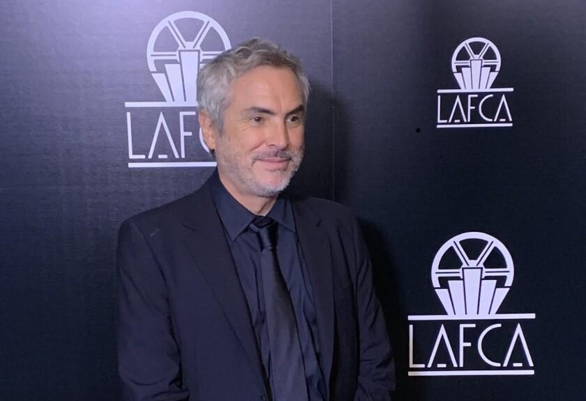 Alfonso Cuarón es premiado por los Criticos de Los Ángeles.