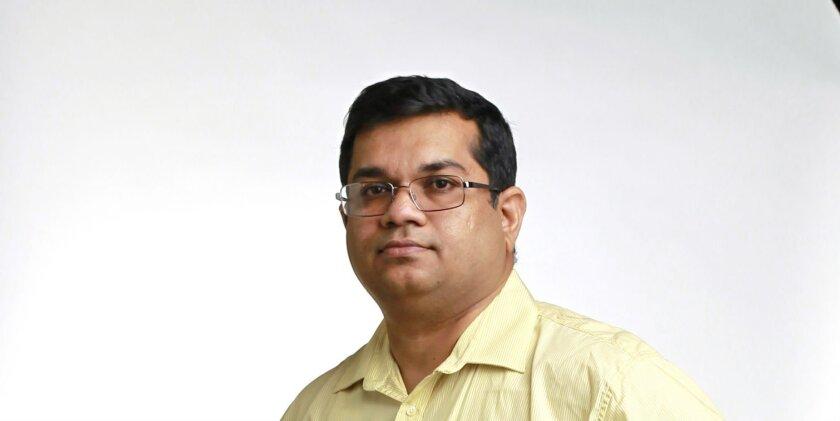 Raghu Sreepada / photo by K.C. Alfred * U-T