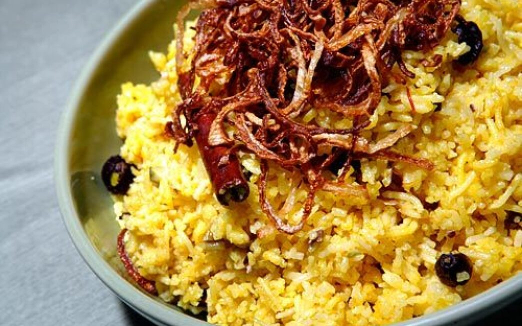 Saffron Rice Recipe Los Angeles Times
