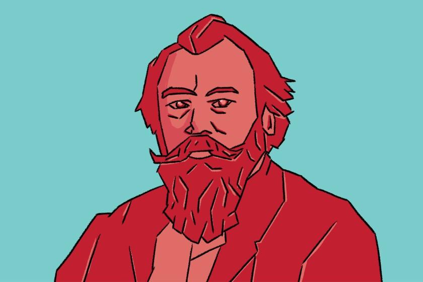 Illustration of Johannes Brahms