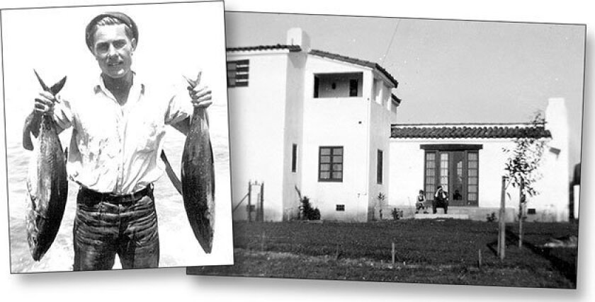 After Ed Ries' parents lost their dream home, he earned spending money fishing and selling the catch. (Courtesy of Ed Ries)