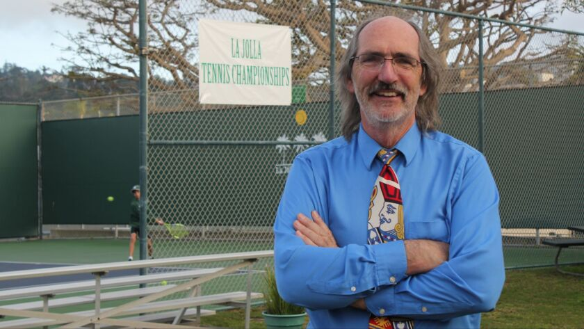 Scott Farr has managed the La Jolla Tennis Club for the past decade.