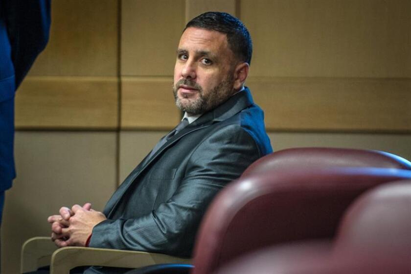 El español Pablo Ibar durante su comparecencia en el tribunal del condado de Broward, en Fort Lauderdale, Florida (EE.UU.). EFE/Archivo