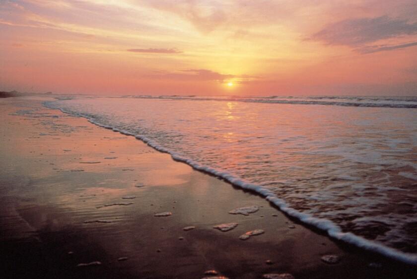 Sunrise from Beachwalker Park on Kiawah Island.