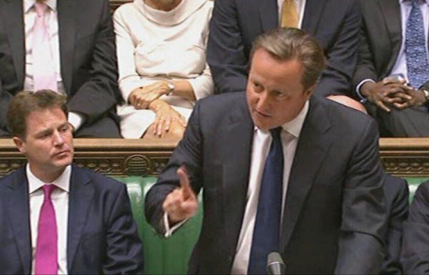 BRITAIN-SYRIA-CONFLICT-POLITICS