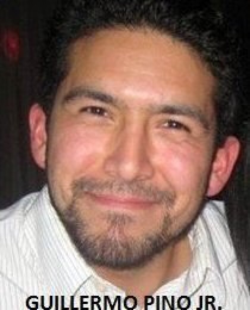 Guillermo Piño Jr., 26, has been missing since Sunday in the Anza-Borrego Desert.