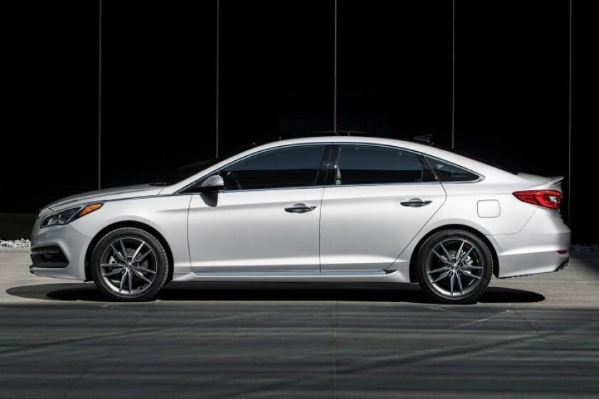 El Hyundai Sonata del 2016