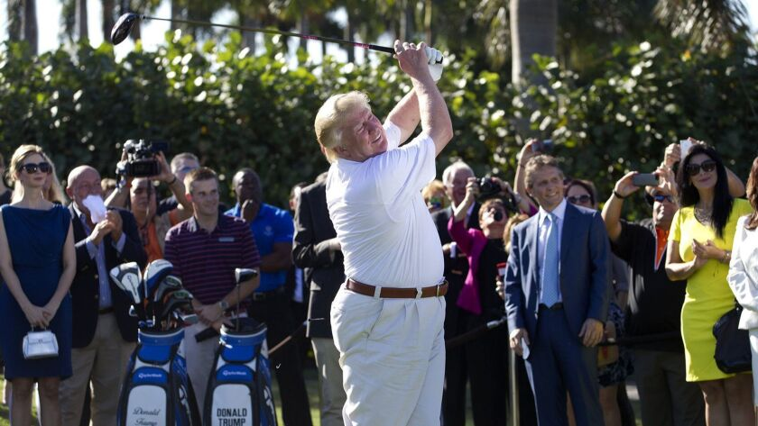 Trump's Doral resort 'severely underperforming' thanks to a presidential brand