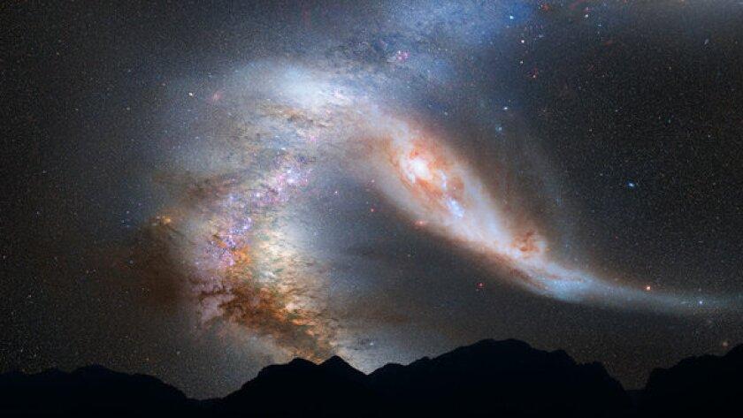 Milky Way, Andromeda galaxies set to crash -- in 4 billion years