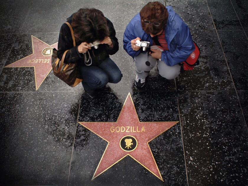 The Hollywood Chamber of Commerce says you need talent to get a star on the Walk of Fame. You also need cash.