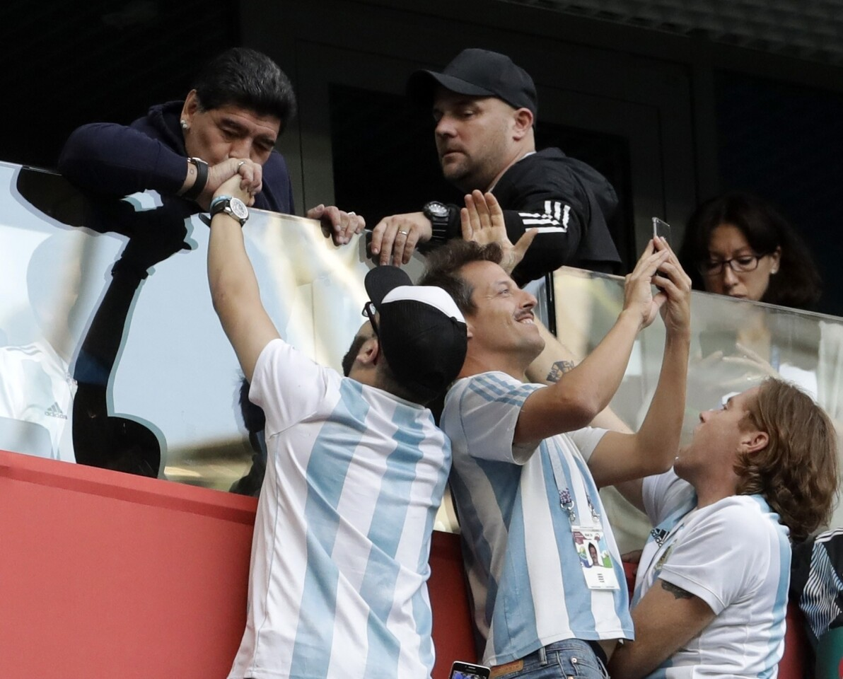 APphoto_Russia Soccer WCup Nigeria Argentina