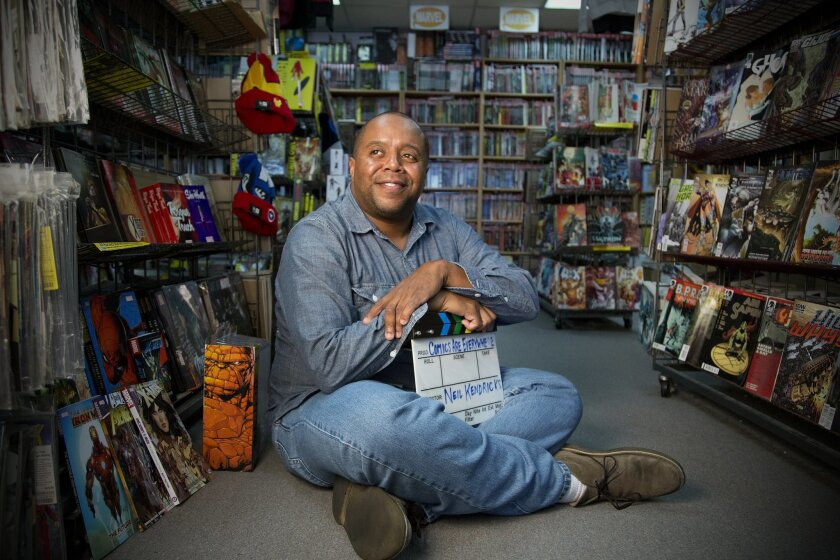 Local filmmaker Neil Kendricks has received a $20,000 grant to help him make a comics-based documentary.