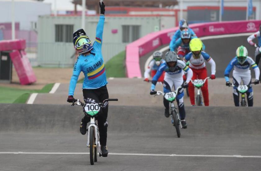 La colombiana Mariana Pajón demostró su nivel olímpico en Lima 2019