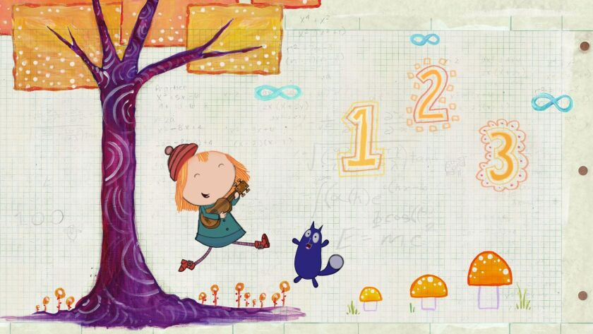 'Peg + Cat' is an animated PBS series that follows the spirited Peg and her sidekick Cat.