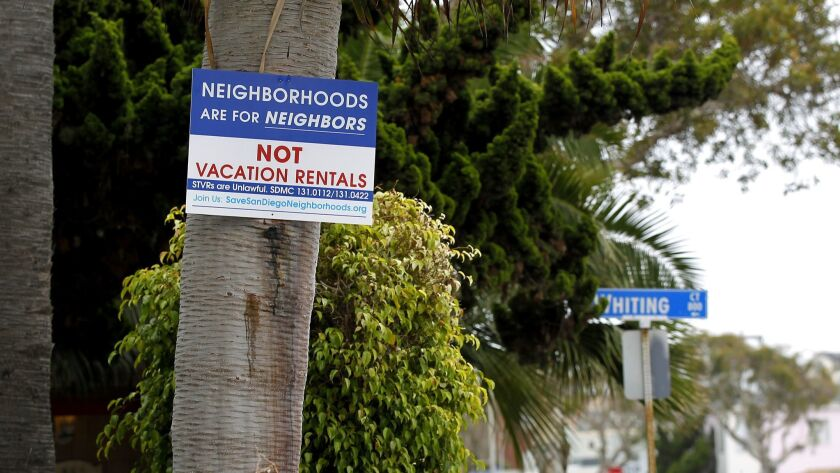 Is a crackdown on San Diego's Airbnb rentals coming? Council to
