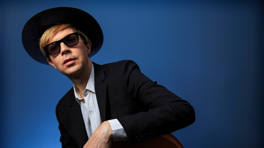 Singer and songwriter Beck, photographed at Capitol Records in 2014.