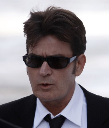 <b>Controversial character:</b> Charlie Sheen