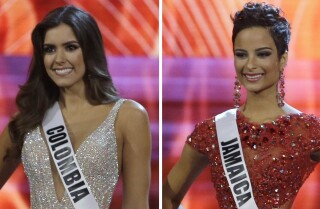 Miss Columbia wins Miss Universe 2015, Miss Jamaica wins hearts