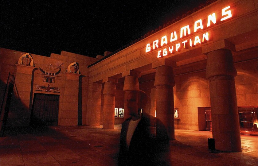 The Egyptian Theatre, first opened in 1922, is poised to be sold to Netflix.