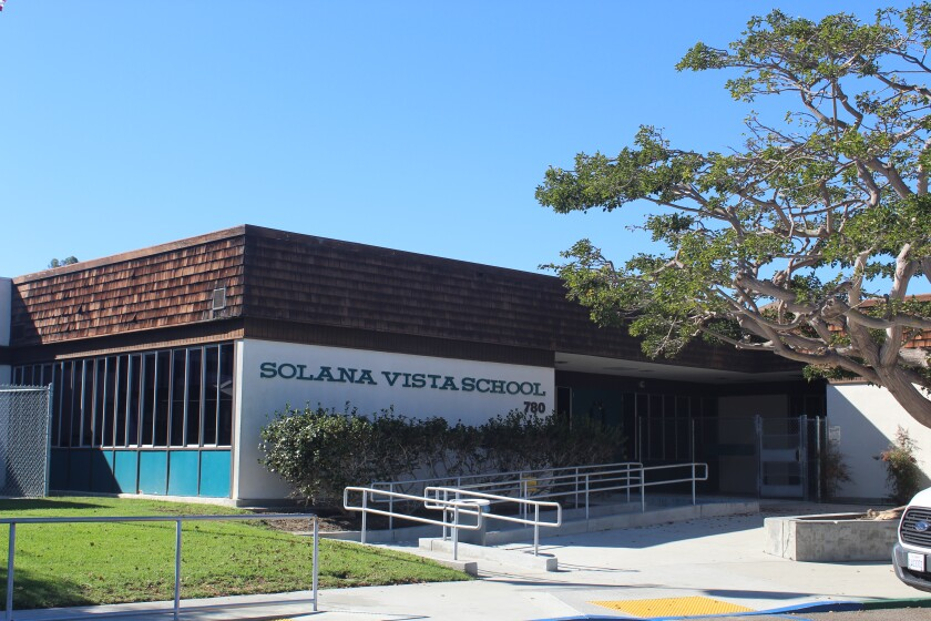 Solana Vista School will undergo a complete reconstruction next year.