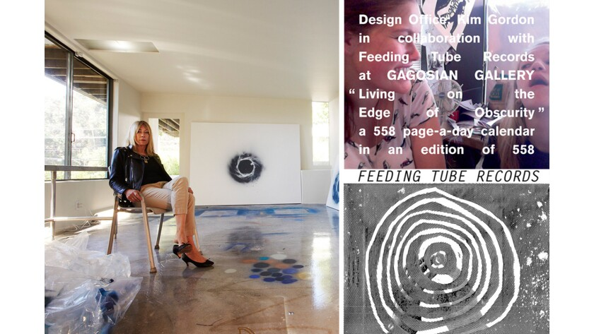 Former Sonic Youth frontwoman Kim Gordon is creating a tribute to Feeding Tube Records in the Gagosian Gallery space, a Massachusetts shop known for its dedication to the avant-garde.