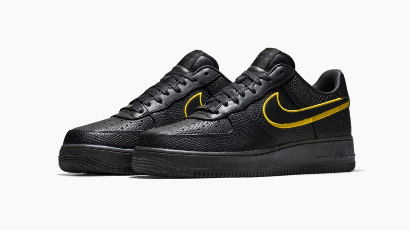 the latest e77f2 492ac Nike's commemorative Kobe Bryant Black Mamba Air Force 1 ...